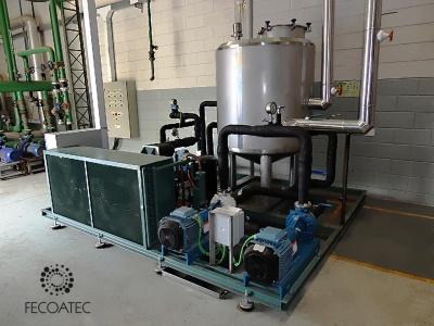Generación de agua/glicol frío y caliente